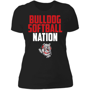 Lady Bulldogs Nation Ladies' Boyfriend T-Shirt