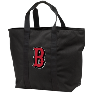 Lady Bulldogs B Logo (Red) All Purpose Tote Bag