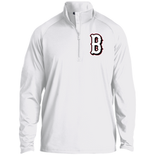 Load image into Gallery viewer, B (White) 1/2 Zip Raglan Performance Pullover