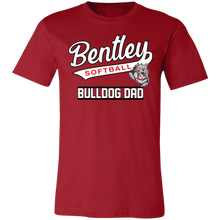 Load image into Gallery viewer, Lady Bulldogs Dad Jersey Short-Sleeve T-Shirt