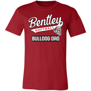 Lady Bulldogs Dad Jersey Short-Sleeve T-Shirt