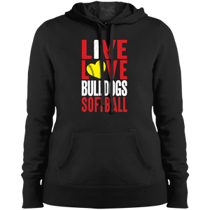 Lady Bulldogs Live/Love Ladies' Pullover Hooded Sweatshirt