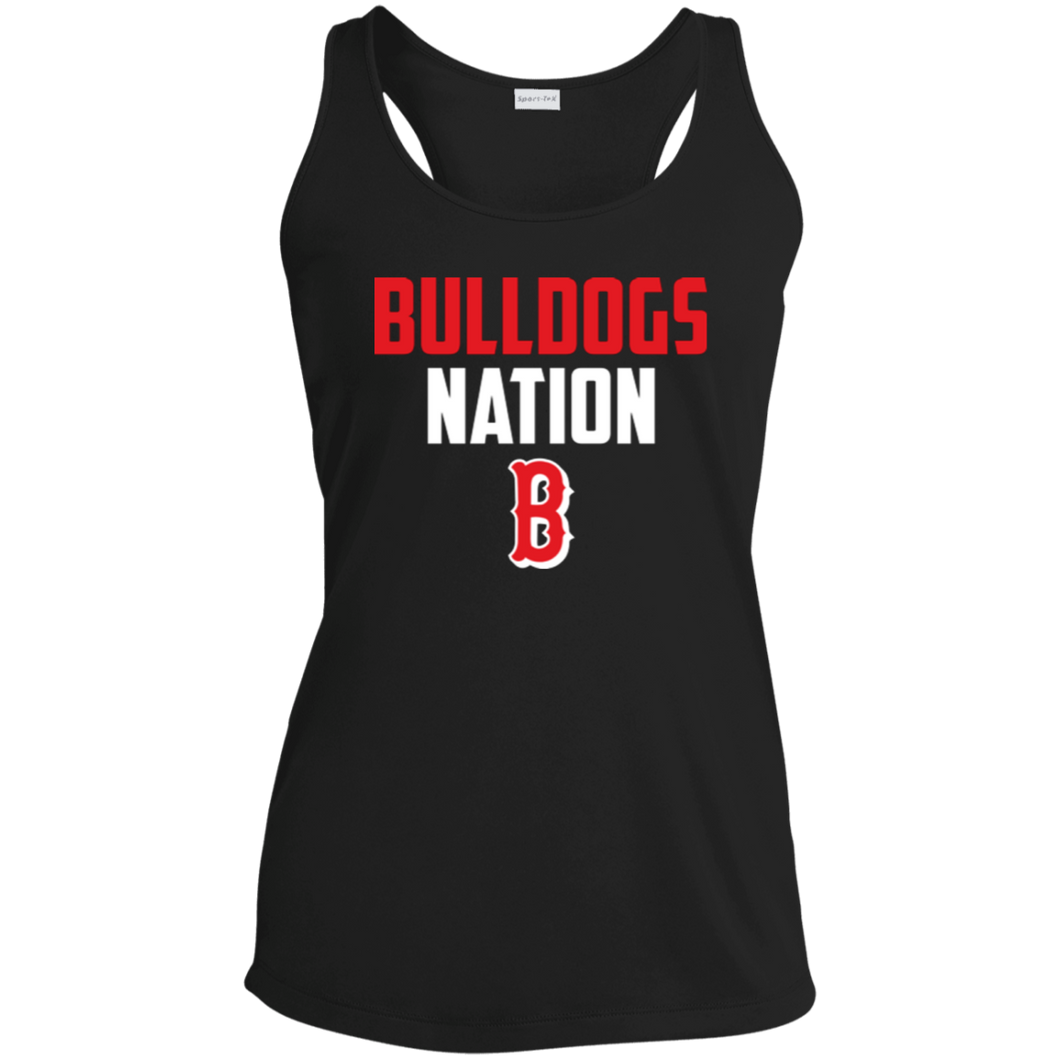Nation Ladies' Racerback Moisture Wicking Tank