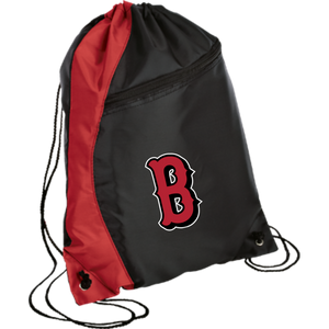 Lady Bulldogs B Logo (Red) Colorblock Cinch Pack