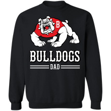 Load image into Gallery viewer, Bulldog Dad Special  Crewneck Pullover Sweatshirt  8 oz.