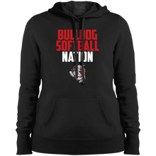 Load image into Gallery viewer, Lady Bulldogs Nation Ladies' Pullover Hooded Sweatshirt