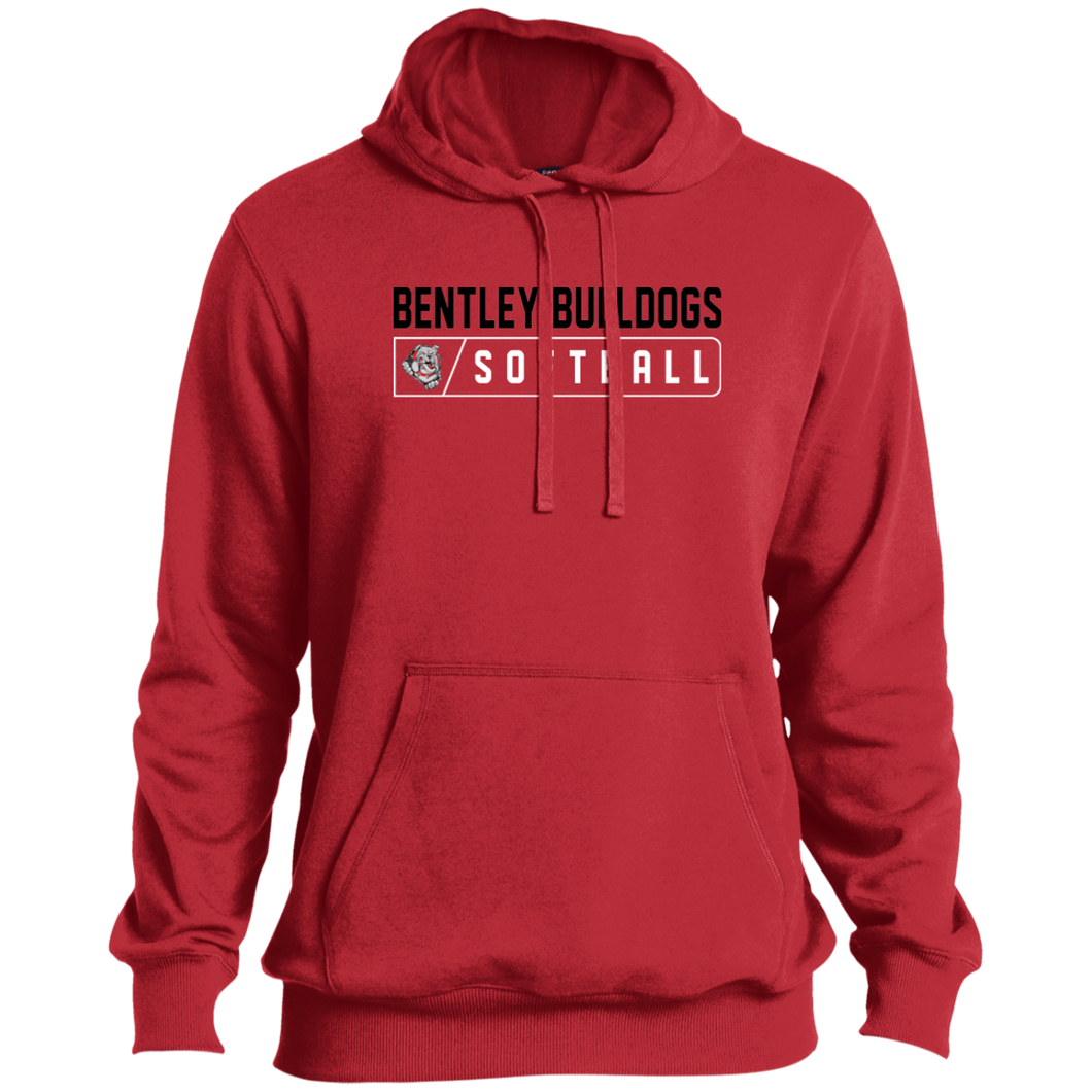 Lady Bulldogs Bar Logo (Black) Pullover Hoodie