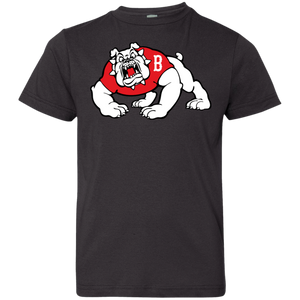 Bulldog Logo Youth Jersey T-Shirt