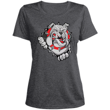 Load image into Gallery viewer, Lady Bulldogs Ladies' Heather Dri-Fit Moisture-Wicking T-Shirt