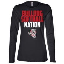 Load image into Gallery viewer, Lady Bulldogs Nation Ladies' Jersey LS Missy Fit