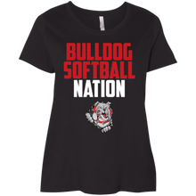 Load image into Gallery viewer, Lady Bulldogs Nation Ladies' Curvy T-Shirt