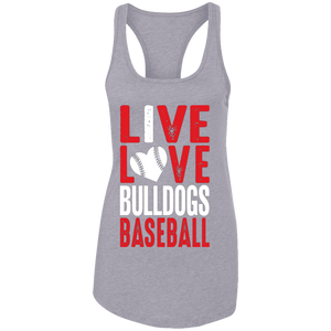 Live/Love Ladies Ideal Racerback Tank