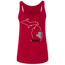 Load image into Gallery viewer, Lady Bulldogs Home Ladies' Relaxed Jersey Tank