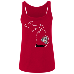 Lady Bulldogs Home Ladies' Relaxed Jersey Tank