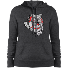 Load image into Gallery viewer, Lady Bulldogs Ladies' Pullover Hooded Sweatshirt