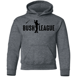 Bush League Bat Flip Youth Pullover Hoodie