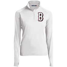 Load image into Gallery viewer, B (White) Women's 1/2 Zip Performance Pullover
