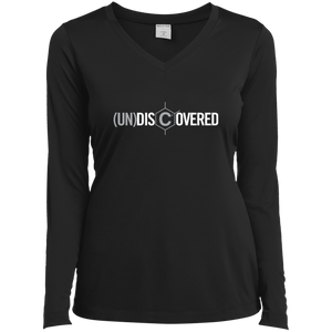 (un)discovered Ladies' LS Performance V-Neck T-Shirt