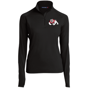 Bulldog Women's 1/2 Zip Performance Pullover