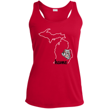 Load image into Gallery viewer, Lady Bulldogs Home Ladies' Racerback Moisture Wicking Tank