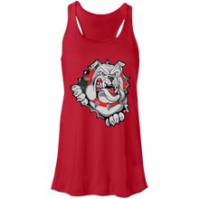 Load image into Gallery viewer, Lady Bulldogs Flowy Racerback Tank