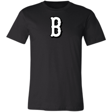 Load image into Gallery viewer, B Logo (white)  Jersey Short-Sleeve T-Shirt