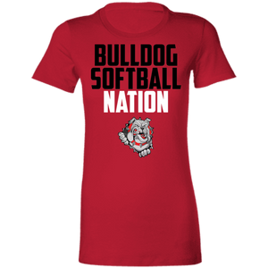 Lady Bulldogs Nation Ladies' Favorite T-Shirt