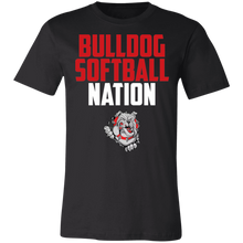 Load image into Gallery viewer, Lady Bulldogs Nation Jersey Short-Sleeve T-Shirt