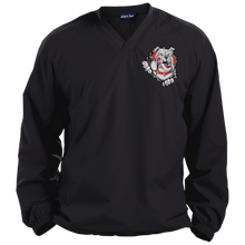 Load image into Gallery viewer, Lady Bulldogs Pullover V-Neck Windshirt