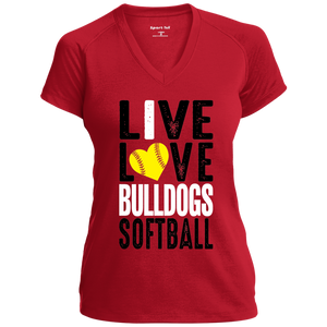 Lady Bulldogs Live/Love Ladies' Performance T-Shirt