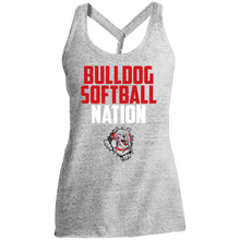 Load image into Gallery viewer, Lady Bulldogs Nation Ladies' Cosmic Twist Back Tank