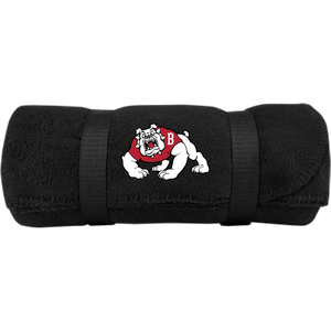 Bulldog Fleece Blanket