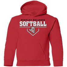 Load image into Gallery viewer, Lady Bulldogs Plate Logo Youth Pullover Hoodie
