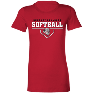 Lady Bulldogs Plate Logo Ladies' Favorite T-Shirt