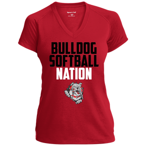 Lady Bulldogs Nation Ladies' Performance T-Shirt