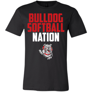 Lady Bulldogs Script Youth Jersey Short Sleeve T-Shirt