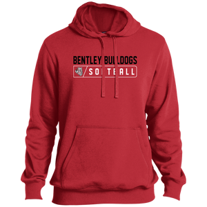 Lady Bulldogs Bar Logo (Black) Tall Pullover Hoodie