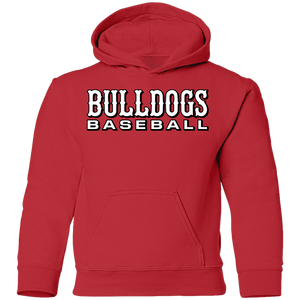 Bulldogs WM  Youth Pullover Hoodie
