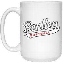 Load image into Gallery viewer, Lady Bulldogs Script 15 oz. White Mug