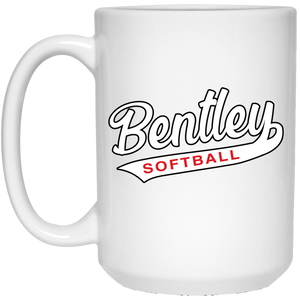 Lady Bulldogs Script 15 oz. White Mug