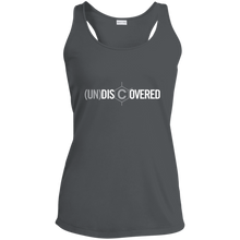 Load image into Gallery viewer, (un)discovered Ladies' Racerback Moisture Wicking Tank