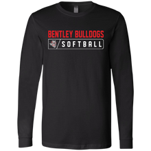 Load image into Gallery viewer, Lady Bulldogs Bar Logo (Red) Men's Jersey LS T-Shirt