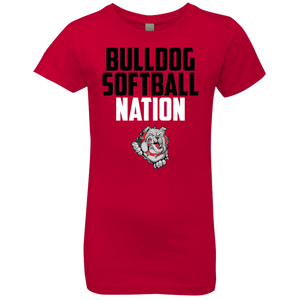 Lady Bulldogs Script Girls' Princess T-Shirt