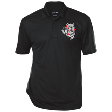 Load image into Gallery viewer, Lady Bulldogs Performance Textured Three-Button Polo