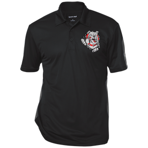 Lady Bulldogs Performance Textured Three-Button Polo