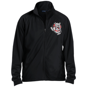 Lady Bulldogs Men's Raglan Sleeve Warmup Jacket
