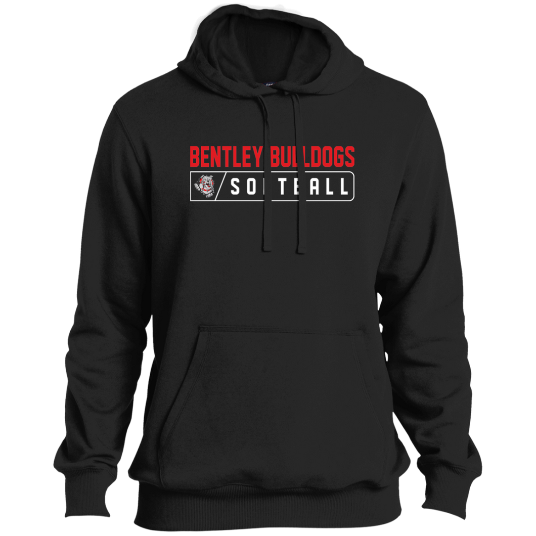 Lady Bulldogs Bar Logo (Red) Tall Pullover Hoodie