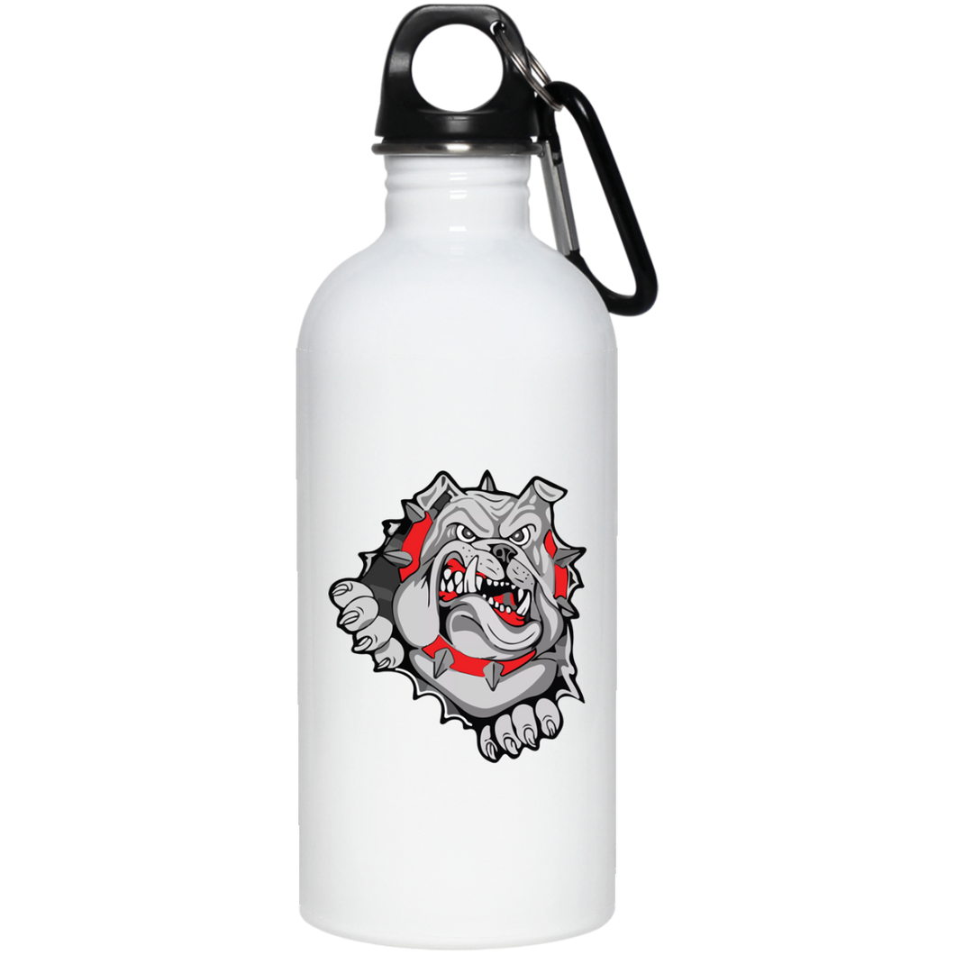 Lady Bulldogs 20 oz. Stainless Steel Water Bottle
