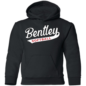 Lady Bulldogs Script Youth Pullover Hoodie
