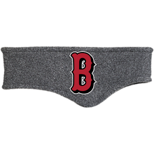 Load image into Gallery viewer, Lady Bulldogs B Logo (Red) Fleece Headband